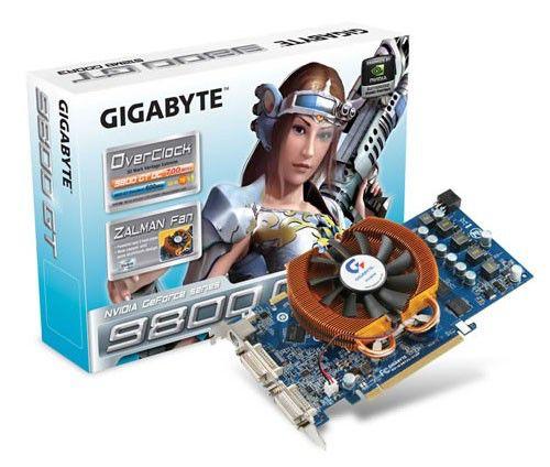 Видеокарта GIGABYTE GeForce 9800 GT,  512Мб, DDR3, Ret [gv-n98toc-512h]