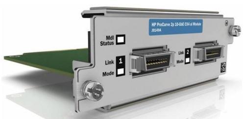 Модуль HP (J9008A) ProCurve 2-Port 10-GbE SFP+ al