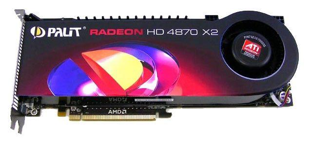 Видеокарта PALIT Radeon HD 4870 X2,  2Гб, DDR5, oem [xae=487x2+t3451]