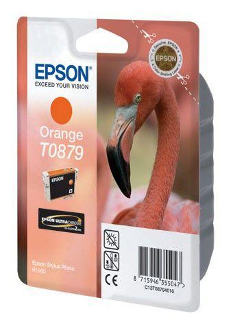 Картридж EPSON T0879 оранжевый [c13t08794010]