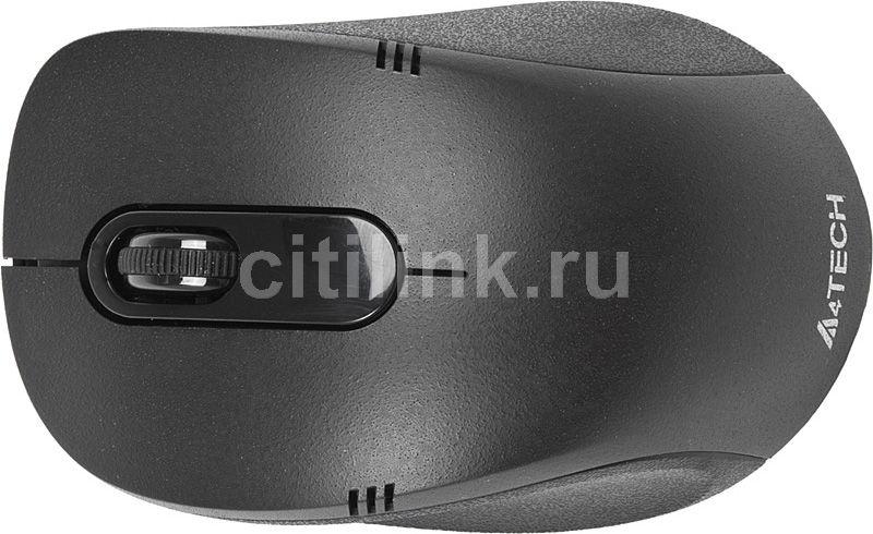 Мышь A4 G7-630-5 оптическая беспроводная USB, черный