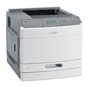 Принтер LEXMARK T650dn лазерный, цвет:  белый [30g0129]