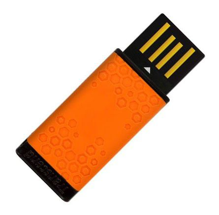 Флешка USB TRANSCEND Jetflash T5T 2Гб, USB2.0, оранжевый и черный [ts2gjft5t]