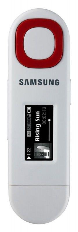 MP3 плеер SAMSUNG YP-U5 flash 2Гб белый [yp-u5qw/xer]