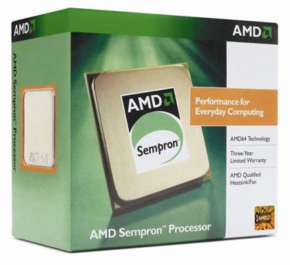 Процессор AMD Sempron LE-1250, SocketAM2 BOX [sdh1250dpbox]