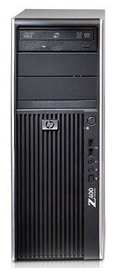 HP Z400,  Intel  Xeon  W3540,  DDR3 3Гб, 500Гб,  DVD-RW,  CR,  Windows Vista Business,  черный [kk540ea]