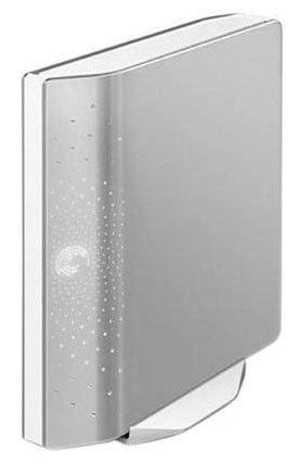 Внешний жесткий диск SEAGATE FreeAgent Desk ST320005FDD2E1-RK, 2Тб, серебристый