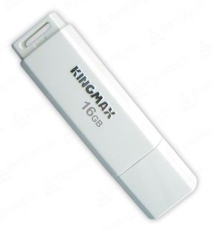 Флешка USB KINGMAX U-Drive PD07 16Гб, USB2.0, белый