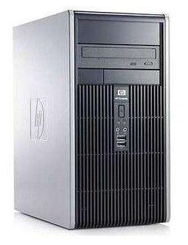 HP dc5800MT,  Intel  Pentium Dual-Core  E5200,  DDR2 2Гб, 250Гб,  Intel GMA X3100,  Windows Vista Business,  черный [vc542es]