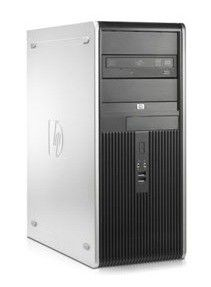 HP dc7900CMT,  Intel  Core2 Duo  E7400,  DDR2 2Гб, 250Гб,  Intel GMA X4500,  Windows Vista Business,  черный и серебристый [vc544es]