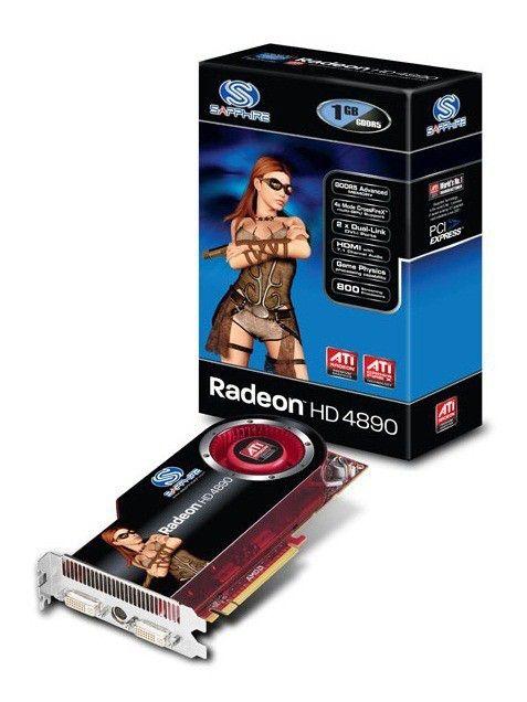 Видеокарта SAPPHIRE Radeon HD 4890,  1Гб, DDR5, OC,  Ret [11150-xx-20r]