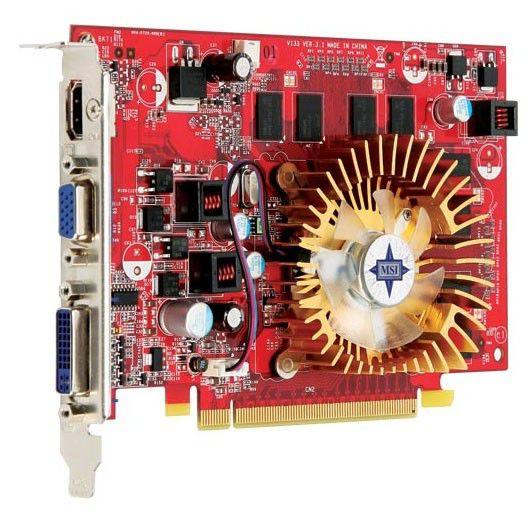 Видеокарта MSI GeForce 9500 GT,  512Мб, DDR2, oem [n9500gt-md512-oc]