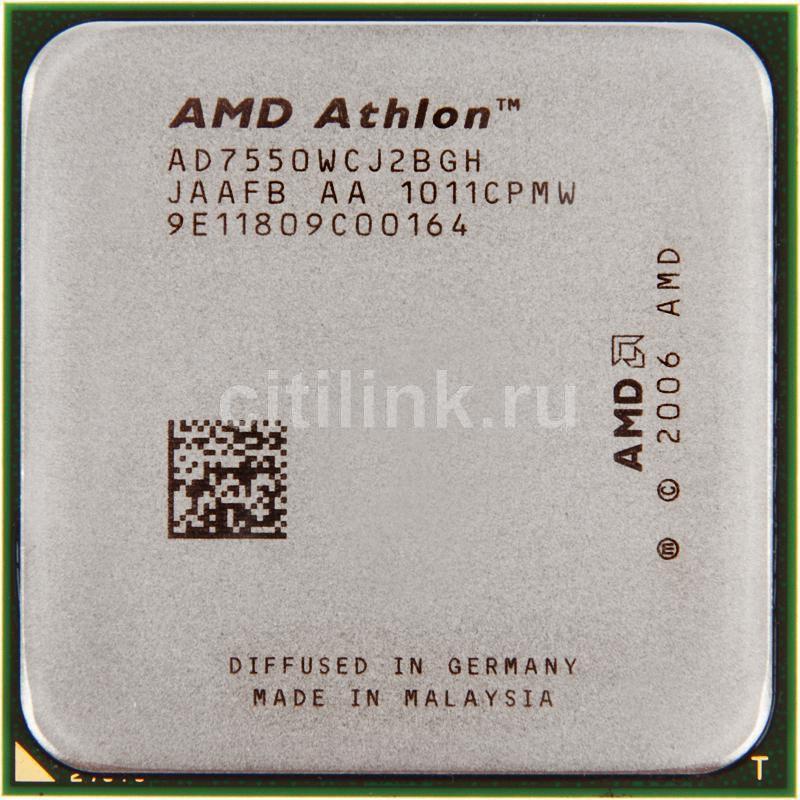 Процессор AMD Athlon X2 7550, SocketAM2+ [ad7550wcj2bgh]