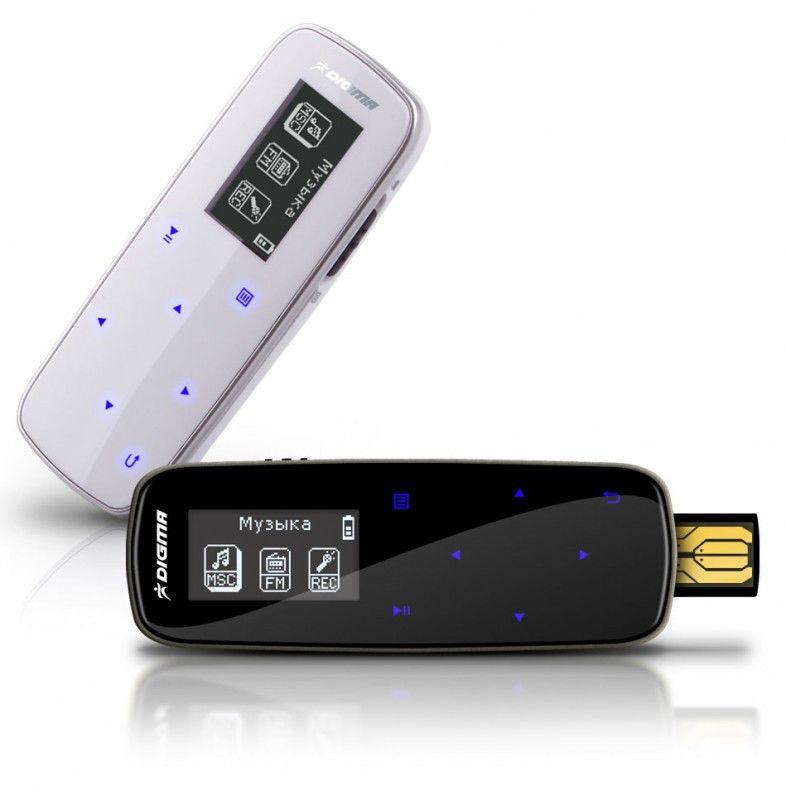 MP3 плеер DIGMA Insomnia1 flash 4Гб черный