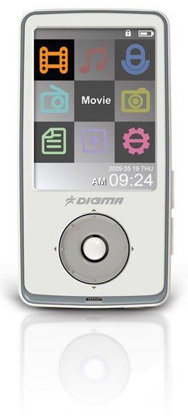 MP3 плеер DIGMA Insomnia2 flash 4Гб белый