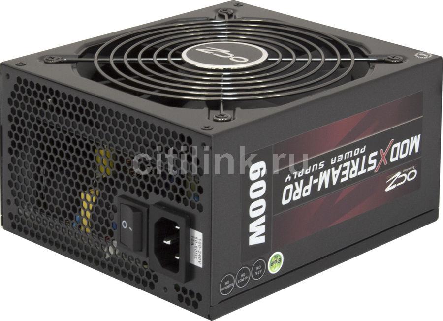 Блок питания OCZ ModXStream Pro OCZ600MXSP-EU,  600Вт,  135мм,  черный, retail