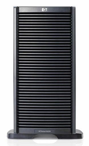 Сервер HP ML350G6 E5506 2x146GB 10k DVDRW 460W (470065-106)