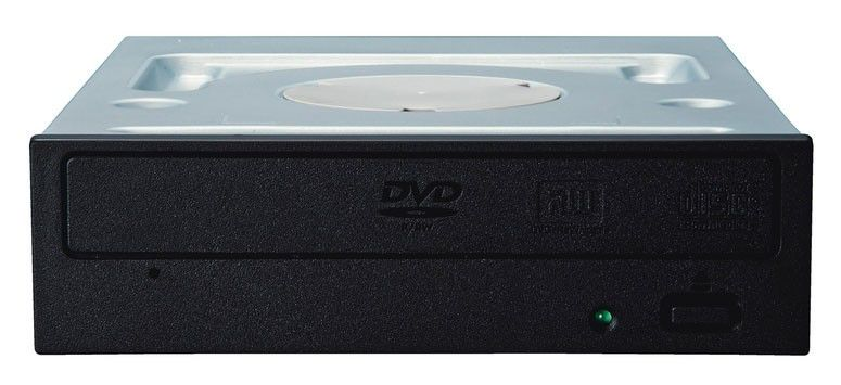 Оптический привод DVD-RW PIONEER DVR217FBK, внутренний, SATA, черный,  OEM