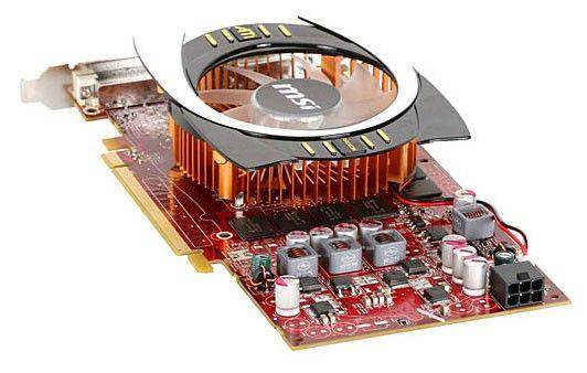 Видеокарта MSI Radeon HD 4770,  512Мб, DDR5, Ret [r4770-t2d512]