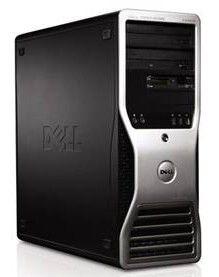 DELL Precision T3500,  Intel  Xeon  W3520,  DDR2 3Гб, 500Гб,  nVIDIA Quadro NVS 295 - 256 Мб,  DVD-RW,  CR,  Windows Vista Business,  черный [210-27090]