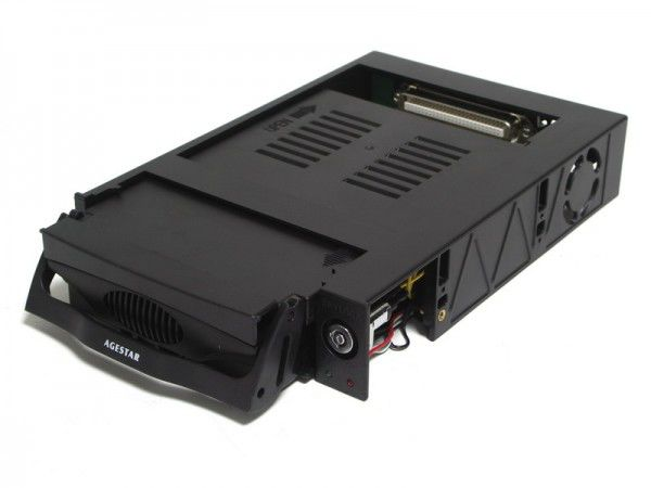 Mobile rack (салазки) для  HDD AGESTAR MR3-SATA (kw)-1F, черный