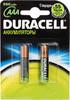 Аккумулятор DURACELL HR03 DC2400,  2 шт. AAA,  1000мAч вид 1