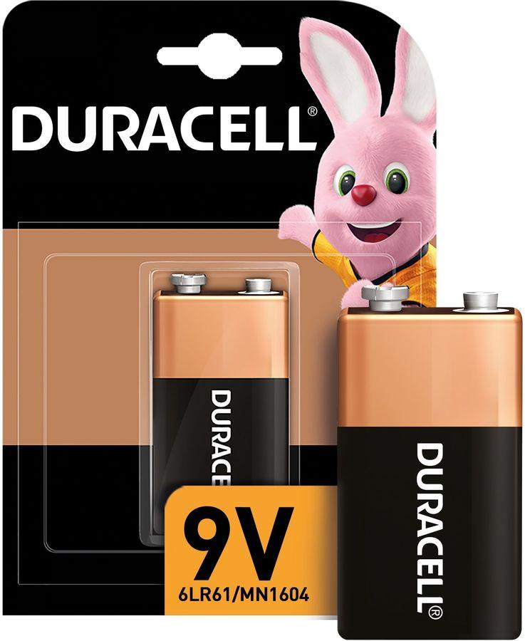 Батарея DURACELL Basic 6LR61-1BL/6LF22-1BL,  1 шт. 9V