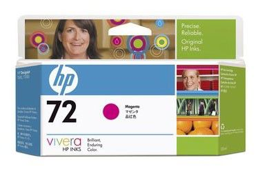 Картридж HP №72 C9399A,  пурпурный