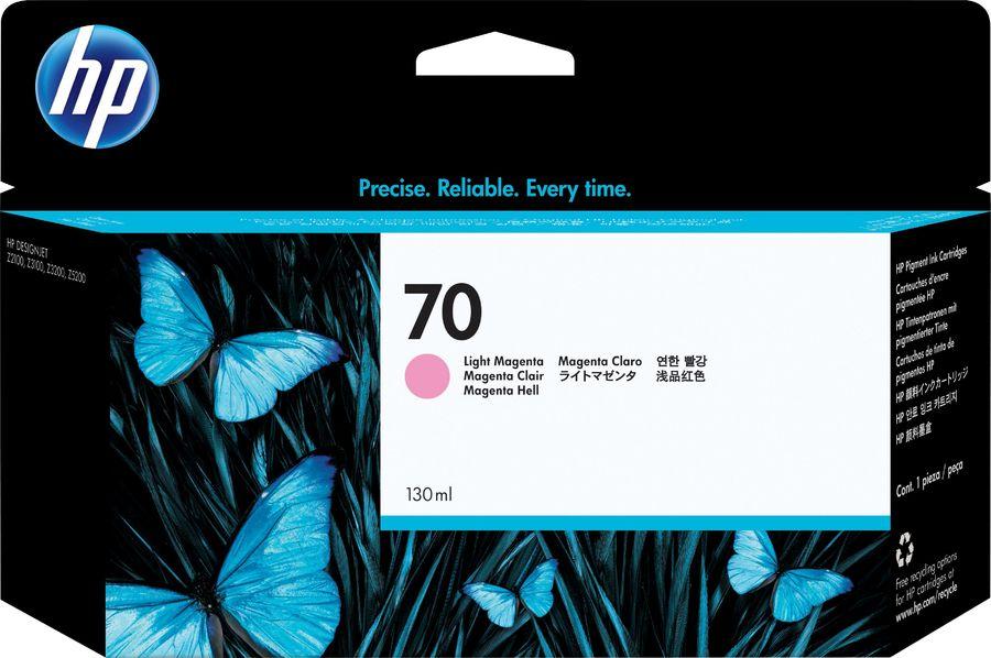Картридж HP №70 C9455A,  светло-пурпурный