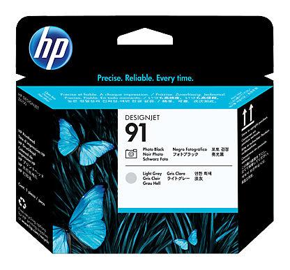 Печатающая головка HP №91 фото черный / светло-серый [c9463a]