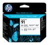 Печатающая головка HP №91 фото черный / светло-серый [c9463a] вид 1