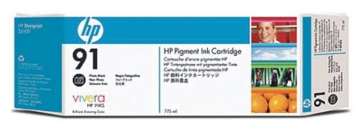 Картридж HP №91 фото черный [c9465a]