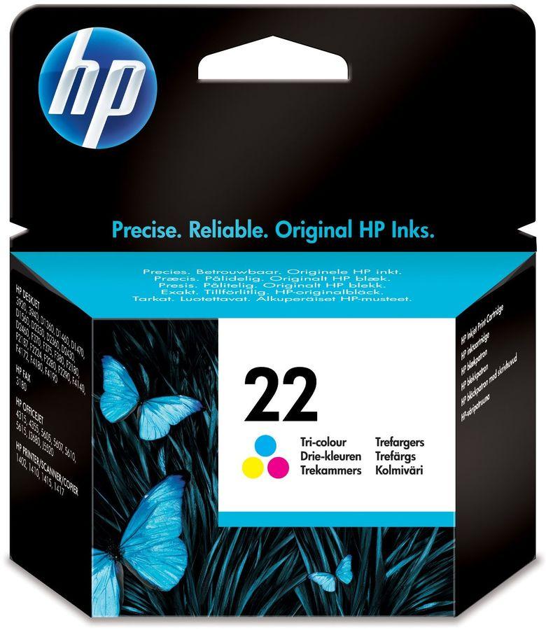 Картридж HP 22 многоцветный [c9352ae]