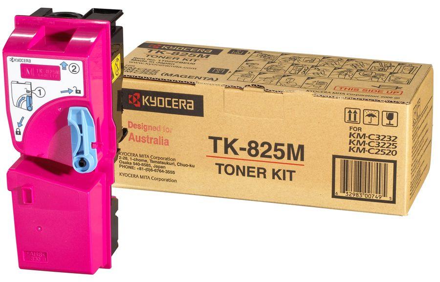 Картридж KYOCERA 1T02FZBEU0 TK-825M,  пурпурный