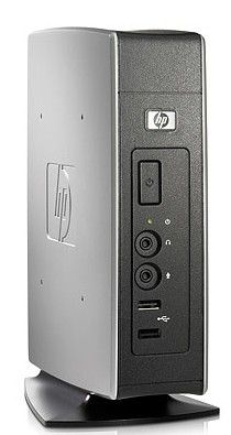 HP t5630w,  VIA  Eden  DDR2 1Гб, 2Гб(SSD),  VIA Chrome9 HC3,  Windows Embedded Standard,  черный [fu259ea]