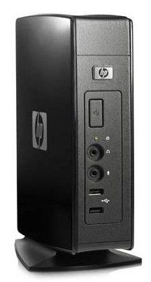 HP t5540,  VIA  Eden  DDR2 512Мб, 128Мб(SSD),  VIA Chrome9 HC3,  Windows Embedded CE 6.0,  черный [va213aa]