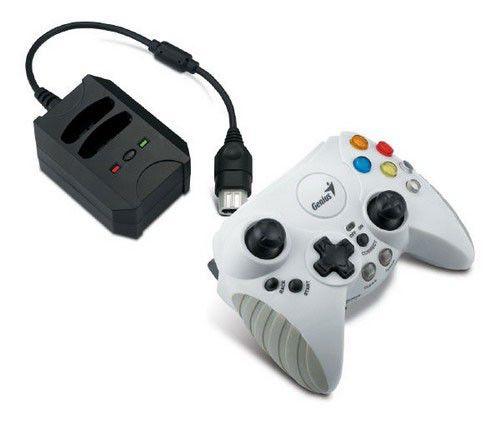 Геймпад Genius G-GP BlazeX Wireless white XBOX,12кн,8позиц.переключатель,2мини-джойстика,вибрация [g-gp blazex wl]