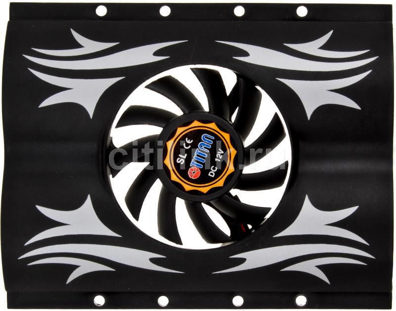 Вентилятор TITAN TTC-HD11,  60мм, Ret