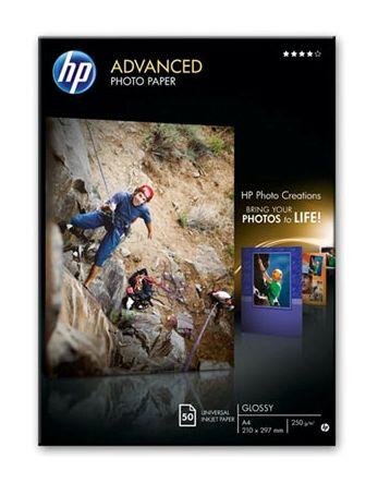 Бумага HP Q8698A A4 250г/м2 (50л) Улучшенная глянцевая