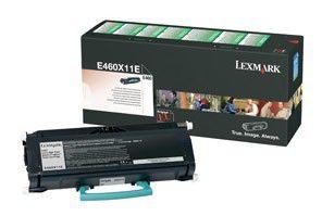 Картридж LEXMARK E460X11E черный