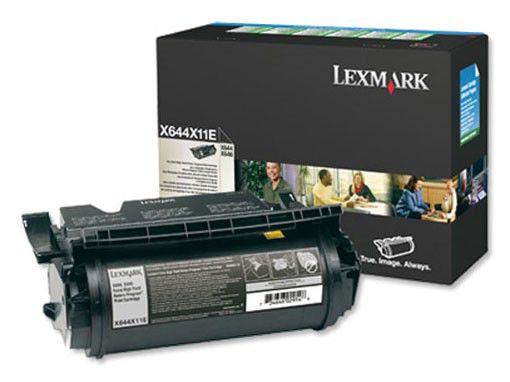 Картридж LEXMARK X644X11E черный