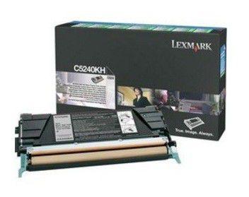 Картридж LEXMARK C5240KH черный