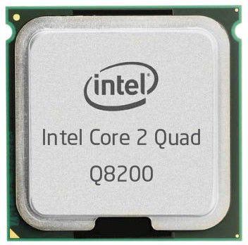 Процессор INTEL Core 2 Quad Q8200, LGA 775 [bx80580q8200   s lg9s]