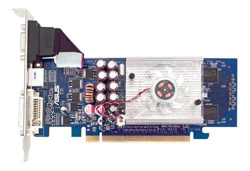 Видеокарта ASUS GeForce 8400 GS,  256Мб, DDR2, Ret [en8400gs/htp/256m/a(lp)]