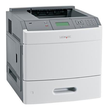 Принтер LEXMARK T654dn лазерный, цвет:  белый [30g0302]