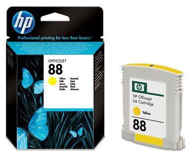 Картридж HP №88 C9388AE,  желтый