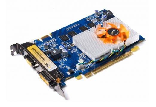 Видеокарта ZOTAC GeForce 9400 GT,  1Гб, DDR2, Ret [zt-94tek3p-fdr]