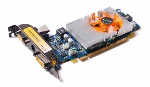 Видеокарта ZOTAC GeForce 9400 GT,  512Мб, DDR2, Ret [zt-94teh2l-fdr]