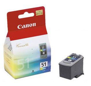 Картридж CANON CL-51 многоцветный [0618b001]