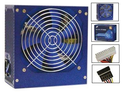 Блок питания FSP BlueStorm 400,  400Вт,  120мм,  синий, retail
